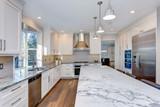 Beautiful white kitchen design. - 188166220