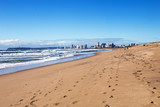 Coastal Landscape Against Blue Sky in Durban South Africa