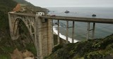 Bixby Bridge on highway 1 near the rocky Big Sur coastline of the Pacific Ocean California, USA - 188174403