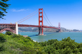 San Francisco Golden Gate Bridge im Sommer