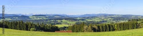 Papiers peints Photos panoramiques Blick ins Westallgäu
