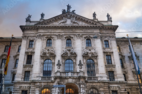 Palace of Justice (Justizpalast) in Munich, Bavaria, Germany - 188210286
