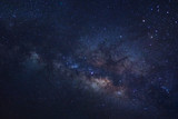 Starry night sky and milky way galaxy with stars and space dust in the universe - 188212692