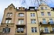 Altbaufassaden in Freiburg