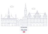 Gdansk Linear City Skyline, Poland