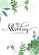 Design of wedding invitation 2