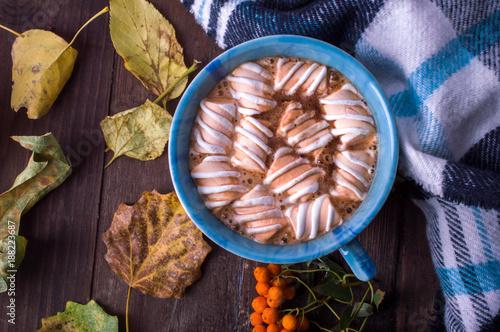 Foto op Canvas Chocolade marmalade in cocoa