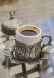 cup of turkish coffee on table - 188232258