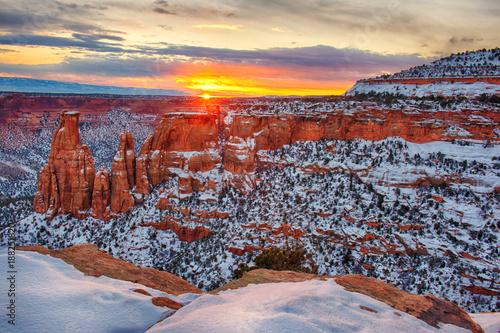 Fridge magnet Colorado National Monument