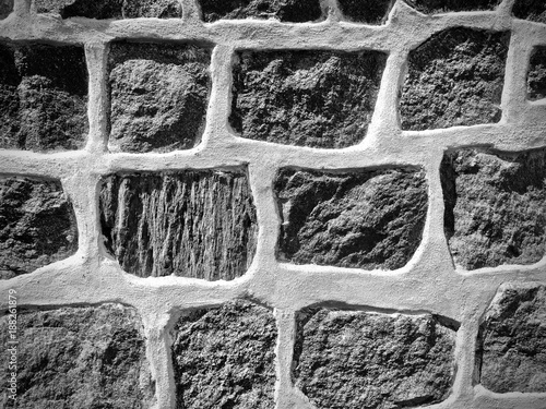 In de dag Stenen Stone wall