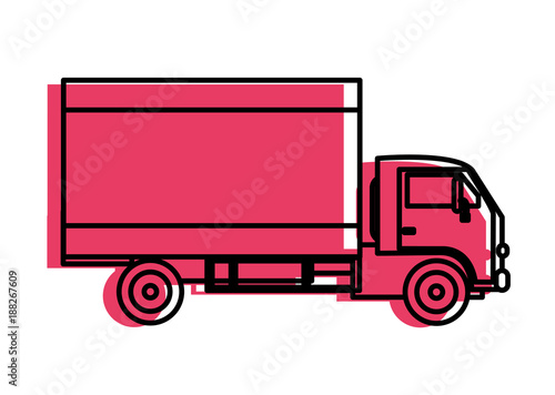 Isolated truck design - 188267609