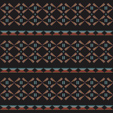 Color tribal seamless  pattern.