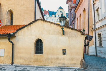Josefov is a Jewish quarter of Prague in Czech Republic