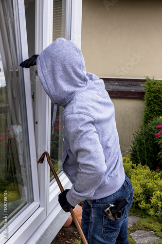 burglar at a window - 188298415