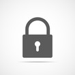 Padlock icon. Vector illustration. - 188305070