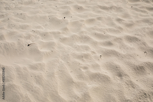 texture of natural brown sand beach