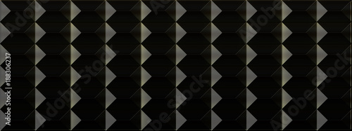 抽象的な黒い背景 - 188306237