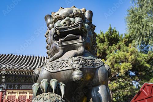 Deurstickers Peking Summer Palace Lion