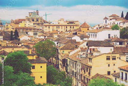 Foto Murales Day view of  Granada