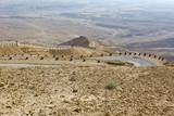 Desert road in Israel