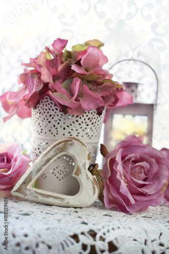 romantic decoration for wedding or valentines