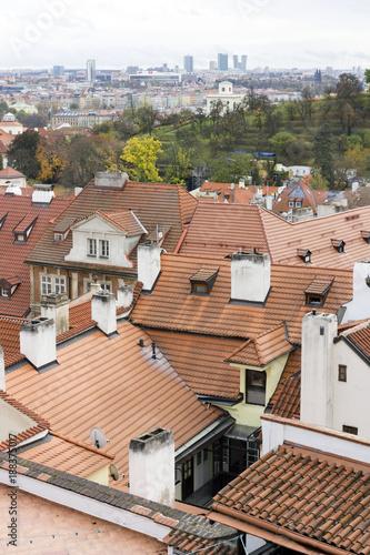 Foto Murales Rooftops of Prague