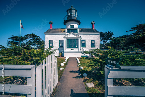 Foto Murales Point Pinos Lighthouse in Monterey California