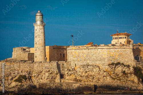 Tuinposter Havana Morro castle, Havana Cuba