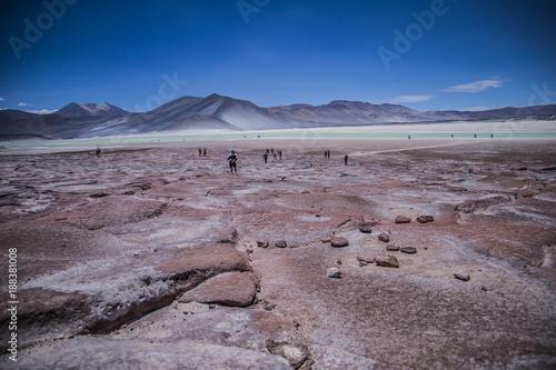 Keuken foto achterwand Nachtblauw desierto de Atacama