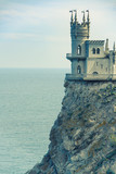 Swallow's Nest castle on the rock in Crimea