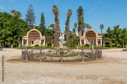 Papiers peints Palerme Public garden Villa Giulia in Palermo, Sicily, Italy