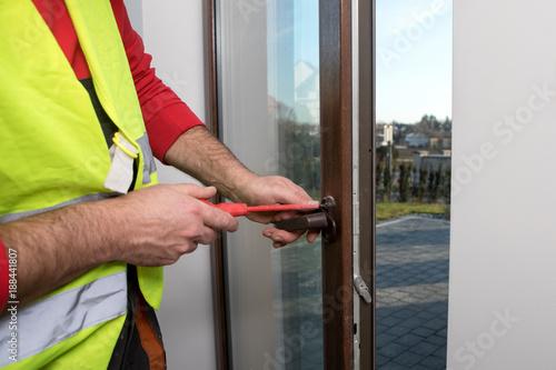 Foto Murales repair of  windows
