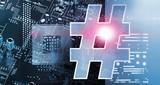 Composite image of hashtag symbol  - 188445816