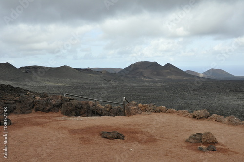 Foto op Canvas Wit lanzarote