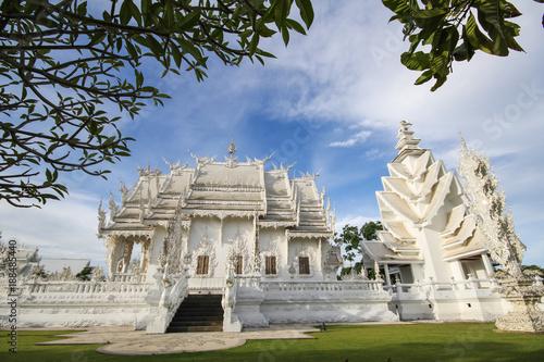 Poster Rong Khun temple, Wat Rong Khun, White temple, Chiangrai Thailand