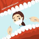 World dentist day.