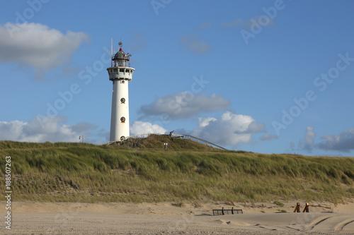 Leuchtturm Egmond aan Zee Poster