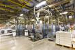 Interieur Fabrikanlage - Großdruckerei für Zeitungen - Weiterverarbeitung & Versand // Interior of a factory plant - large print shop for newspapers - finishing and dispatch of printed products