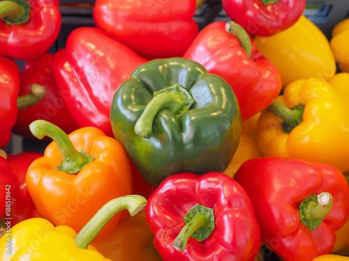 Closeup red chili  - 188519642