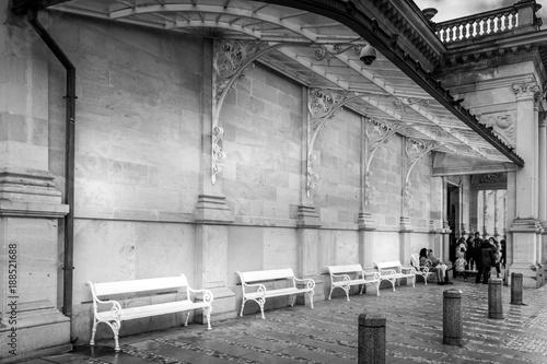 Foto op Aluminium Oude verlaten gebouwen Karlovy Vary - Czech Republic