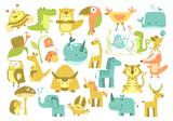 cute animals set - 188524611