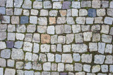 Background of stone pavement texture photo - 188529229