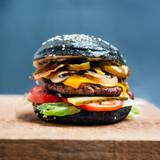 Black burger - 188533071