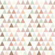 Abstract seamless geometric pattern. Geometry rose, pink and green triangles texture.