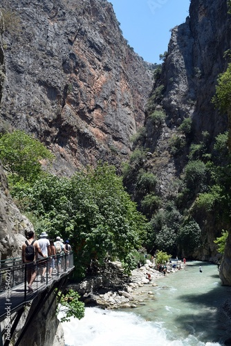 Saklikent Canyon.Fethiye.Turkey - 188546221