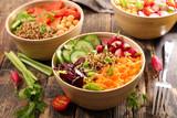 different sort of vegetarian salad - 188550004