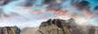 Mountain scenario in vulcanic island