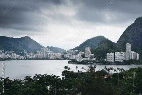 Papiers peints Rio de Janeiro Rodrigo de Freitas Lagoon, Rio de Janeiro