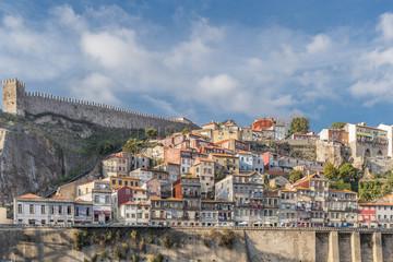 landscape over the city of porto, portugal