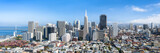 San Francisco Skyline im Sommer